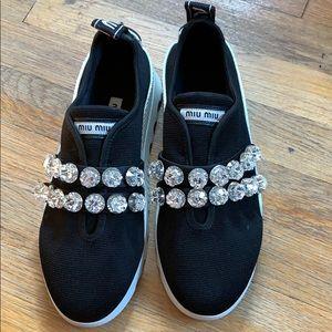 Miu Miu Wedge Sneakers